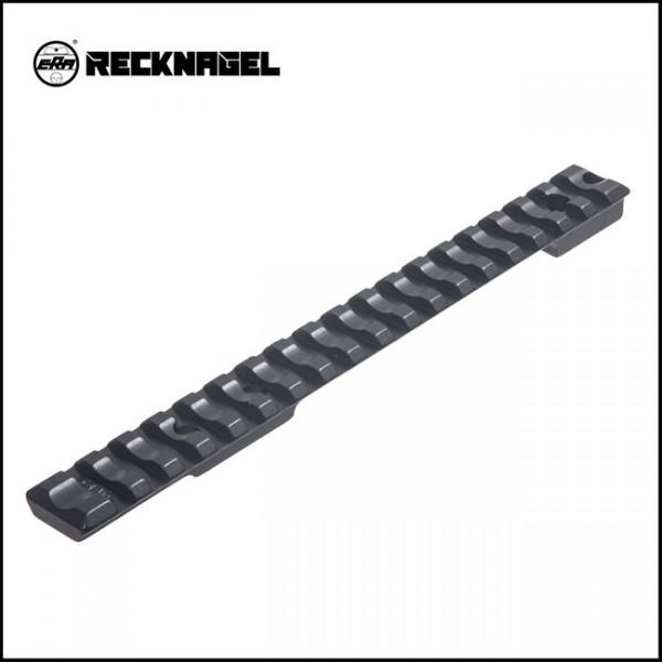 Recknagel Remington 700 lang ( 20 MOA ) Picatinny - Schiene - Alu