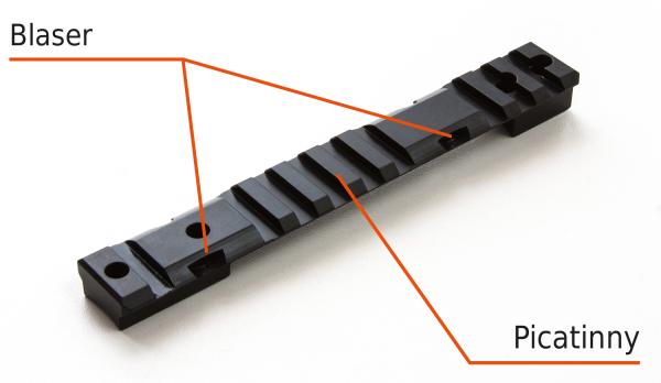 Multirail - Picatinny - für Blaser - Benelli Mod. Argo