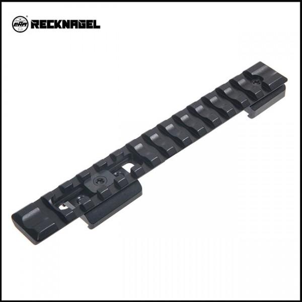 Recknagel Sako long 75 / MA05 IV / V, 85 / MA05 M / L Picatinny - Schiene - Alu