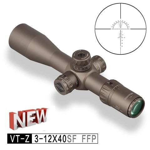 Zielfernrohr Discovery Compact Scope VT-Z FFP 3-12X40SF in Braun