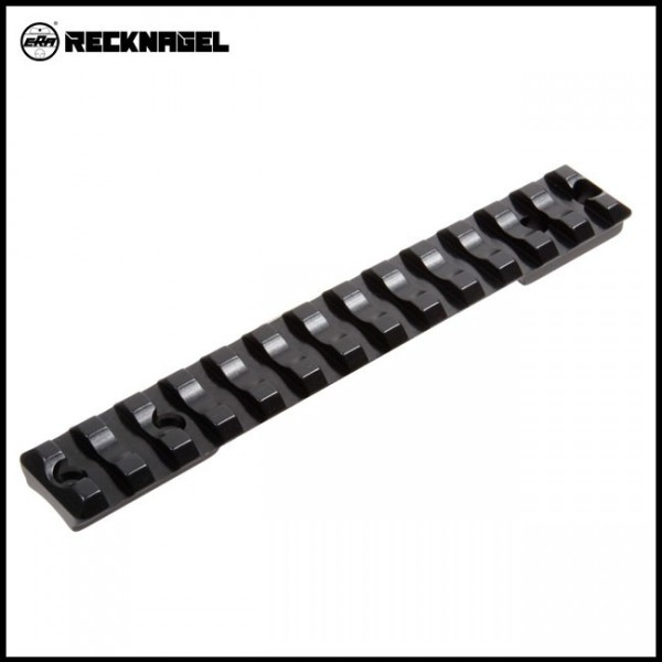 Recknagel Remington 700 short Picatinny - Schiene - Alu