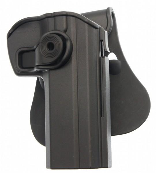 SIG TAC Paddle Retention Holster schwarz für Brünner CZ75 / CZ75B nun 60% reduziert !!