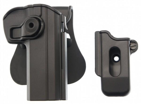 Sig TAC IM Retention Holster mit Magazinholster für Brünner CZ 75 / CZ 75B 40% reduziert !