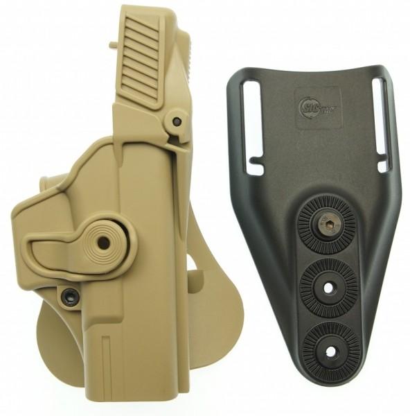 SIG TAC Sicherheitsholster Paddle Retention FDE TAN für GLOCK 19, 23, 25, 32 nun 60% reduziert !!